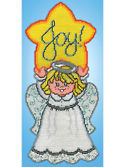 Joy Star Angel Plastic Canvas Kit