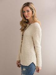 Vivacious Hi-Lo Pullover Knit Pattern