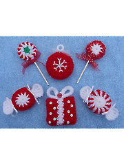 Peppermint Parade Christmas Ornaments