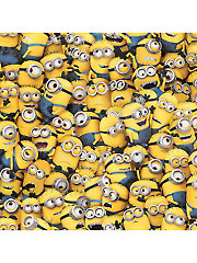 Yellow Packed Minions� 1-Yard Cut