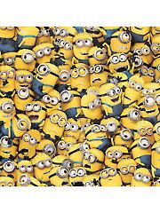 Yellow Packed Minions� 1-Yard Cut