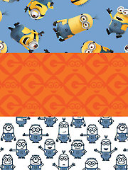 1 in a Minion�- 1/2 Yard Cuts - 3/Pkg.