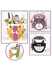Kitty Kups Pincushion & Tool Pocket Sewing Pattern