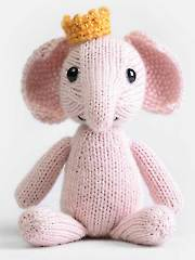 Emilie the Elephant Knit Kit