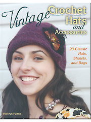 Vintage Crochet Hats & Accessories