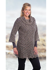 Tunic With Optional Cowl Crochet Pattern