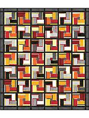 Crazed Tiles Quilt Pattern