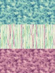 Watercolor Impressions Mysteria 1/2-Yard Cuts - 3/Pkg.