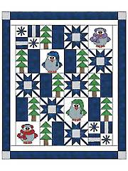 Winter Whoo Quilt Kit