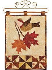 Vintage Blessings November Wall Hanging Pattern or Laser-Cut Kit