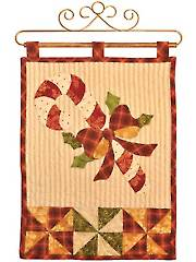 Vintage Blessings December Wall Hanging Pattern or Laser-Cut Kit