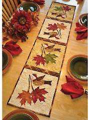 Vintage Blessings November Table Runner Pattern