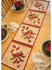 Vintage Blessings December Table Runner Pattern