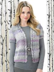 Marble Chunky Knit Waistcoats
