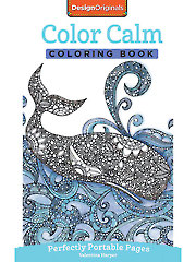 Color Calm On-the-Go! Coloring Book
