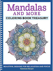 Mandalas & More Coloring Book Treasury