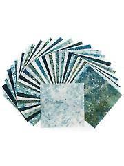 Stonehenge Gradations Blue Planet Charm Pack - 42/Pkg.