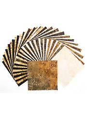 Stonehenge Gradations Onyx Charm Pack - 42/Pkg.