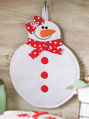 Ms. Snowma'am Hot Pad Pattern
