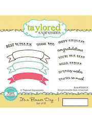 Its a Banner Day Stamp & Die Combo - 11/Pc.