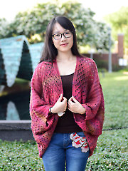 Milanese Wrap Knit Pattern