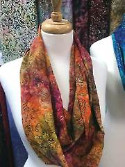 Autumn Fire Infinity Scarf Kit