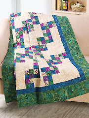 Zigzag Four-Patch Quilt Pattern