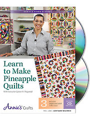 Learn to Make Pineapple Quilts Class DVD