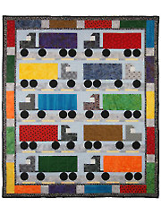 I Love Semi Trucks Quilt Pattern