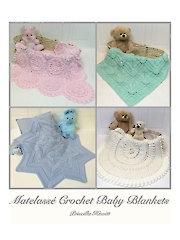 Matelasse Crochet Baby Blankets