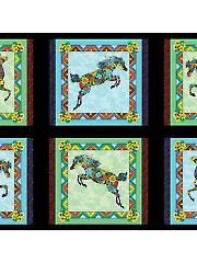 Painted Ponies Panel - 24