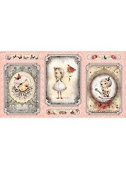 """La Vie en Rose Panel - 43"""" x 22 1/2"""""""