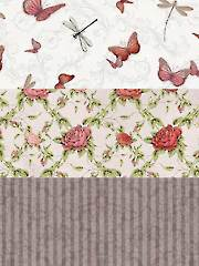 La Vie en Rose Fabric Pack