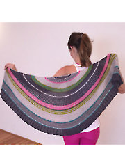 Moon Pie Wrap Knit Pattern