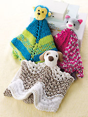 ANNIE'S SIGNATURE DESIGNS: Buddy Blankies Knit Patterns