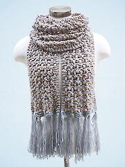ANNIE'S SIGNATURE DESIGNS: Dandelion Scarf Knit Pattern