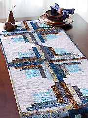 Juniper Logs Table Runner Pattern