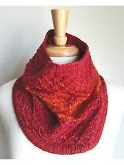 Florala Cowl Knit Pattern