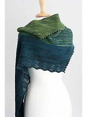 Zephyr Cove Shawl Knit Pattern