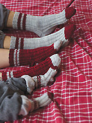 Lumberjack Socks Knit Pattern