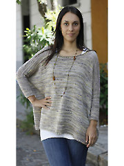 Boxy Worsted Sweater Knit Pattern