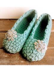 Simply Slippers Crochet Pattern