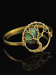 Wire Wrapped Bangle Kit Tree of Life