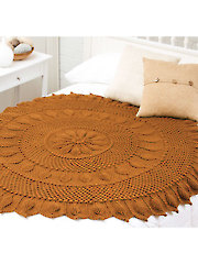 Chestnut Circular Throw