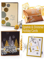Sparkle & Shimmer Holiday Cards
