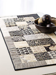 Exclusively Annie's Quick Chic Table Runner and Placemat Pattern