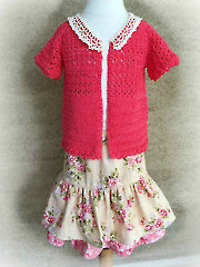 Lucy Layne Sweater Crochet Pattern