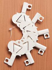 Yarn Valet Yarn Keys Creme