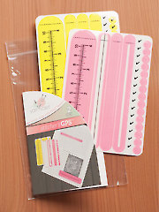 Yarn Valet Stitchers GPS Yellow/Pink