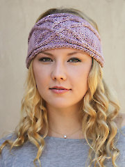 ANNIE'S SIGNATURE DESIGNS: Dasha Headband Knit Pattern